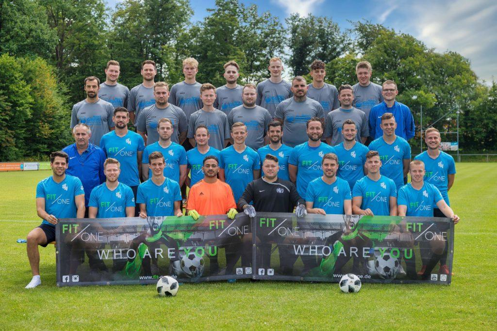 SV Waldbrunn Mannschaftsfoto 2021